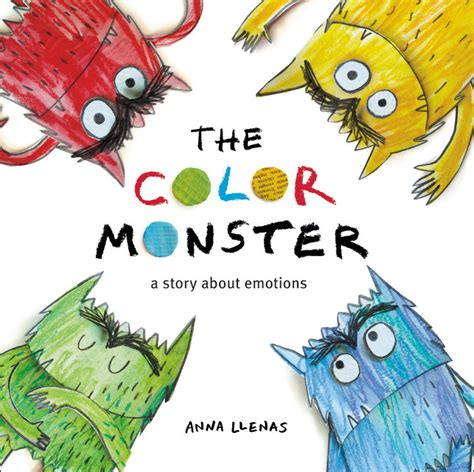color monster  anna llenas  brown books