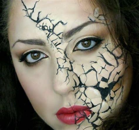 schminke selber machen schminke selber machen puppe zerst 246 rt zersplittertes gesicht jpg 640 215 602 bilder