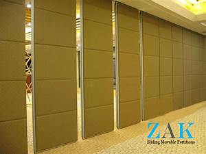 Type 100 Series Sliding Folding Partition ZAK Partitions