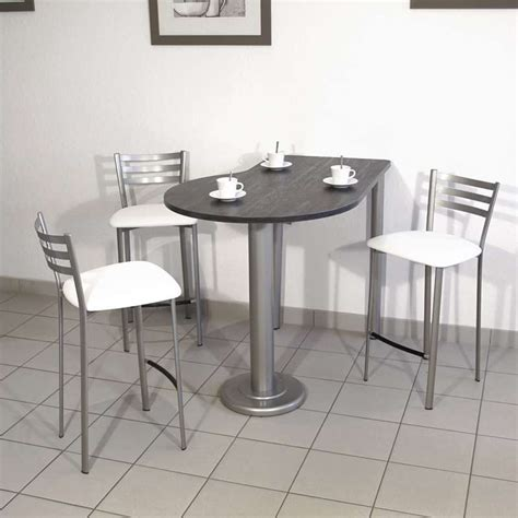 table de cuisine luros en stratifié snack ht 90 cm 4