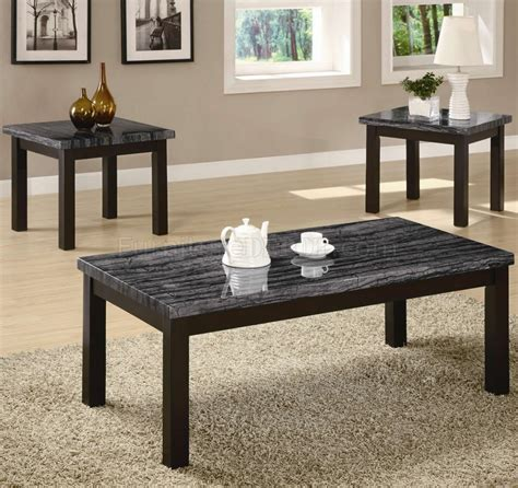 ( 5.0 ) out of 5 stars 1 ratings , based on 1 reviews current price $119.80 $ 119. Cappuccino Finish & Faux Marble Top Modern 3Pc Coffee Table Set