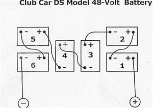 Wiring Diagrams 36 48 Volt Battery Banks Mikes Golf Carts