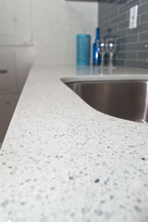 apartment countertop gallery sparkling white quartz