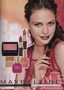 90s #maybelline ad with #josiemaran | makeup | Pinterest ...