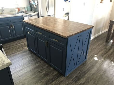 building my own butcher block kitchen island 21 steps with pictures