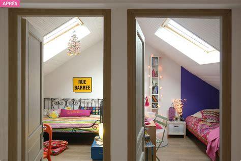 chambres combles couleur de cuisine moderne