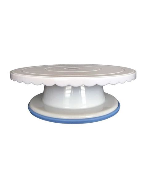 thw plastic rotating cake stand  turntable buy