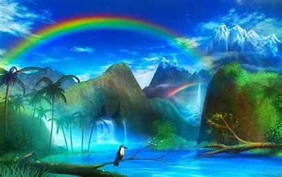 Windows Random Shuffle Wallpapers Rainbows Land Wallpapersafari