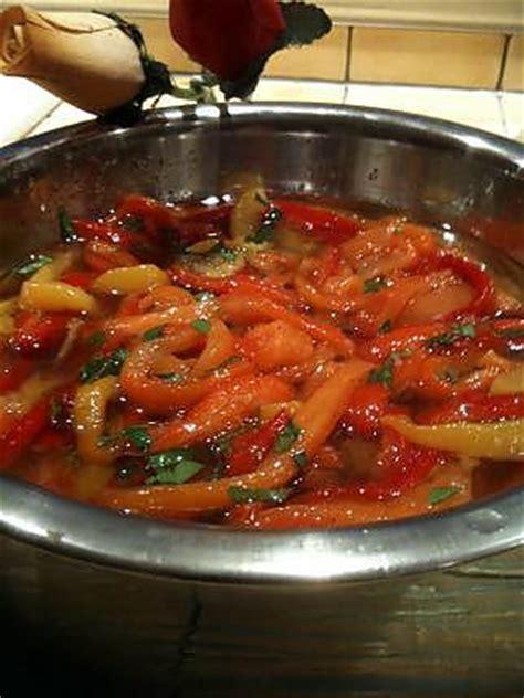 que cuisiner avec des poivrons recette de poivrons grilles a l 39 huile d 39 olive par sophye