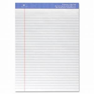 sparco premium grade letter size legal pads sprw1011 With letter size legal pads