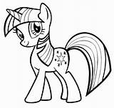 Pony Coloring sketch template
