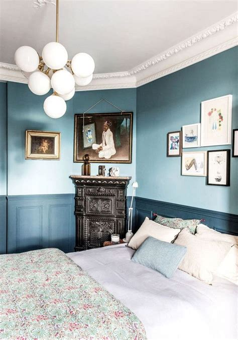 painting bedroom walls two different colors are we ready for the return of two tone walls in 2019 20752 | b62b0c54ff6865916c4ce79d0efec125