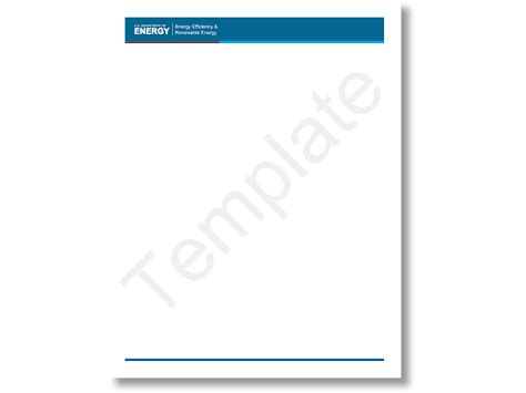 create letterhead template letter flat