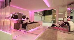 Romantic Bedroom Design with Decorative Stone Elements