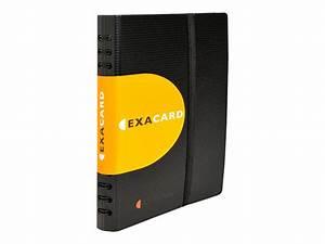 Exacompta Exacard Classeur Pour Cartes De Visite