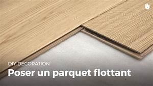 Poser Parquet Stratifié : poser un parquet flottant bricolage youtube ~ Melissatoandfro.com Idées de Décoration