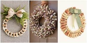 How to Make Wine Cork Wreaths - Wine Cork Wreaths Crafts