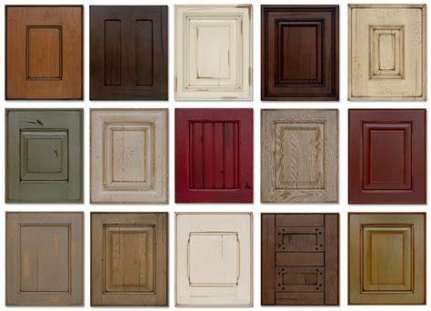 kitchen cabinet wood colors kitchen cabinet door colors kitchen and decor