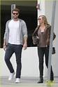 Liam Hemsworth Grabs Lunch With Mom Leonie in Santa Monica ...