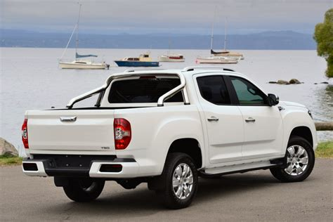Our canopies come colour coded as standard. LDV T60 pickup information - Pro Pickup & 4x4 magazine