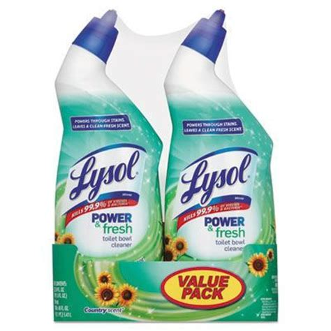 Lysol Power Bathroom Cleaner Sds by Lysol 174 Country Scent Toilet Bowl Cleaner 24 Oz