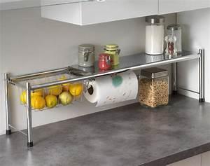 Etagere De Rangement Cuisine : etagere telescopique cuisine maison design ~ Premium-room.com Idées de Décoration