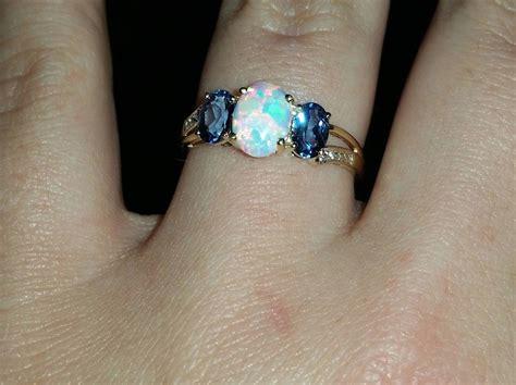 Nondiamond Engagement Ring  Twoxchromosomes