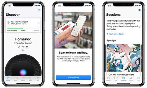apple updates apple store app   sessions tab