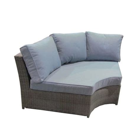 henryka 6 piece l shaped wicker sectional sofa set grey