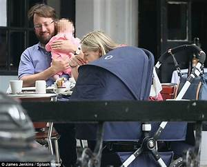 Peep Show's David Mitchell cradles two-month-old baby ...