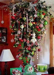 30 Beautiful Upside Down Christmas Tree Ideas - Christmas