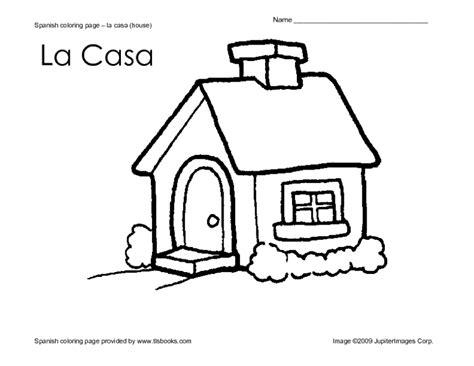 Spanish Coloring Page - Eskayalitim