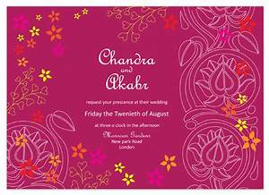 wedding invitations indian lotus at mintedcom With indian wedding invitations minted