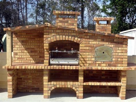 forno pizza da terrazzo barbecue in muratura horno barbecue brick bbq e