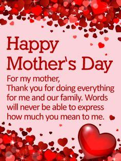 Happy Mothers Day Wishes To My Mothers 2017, Mothers Day ...