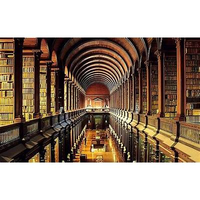 Trinity College Library DublinLustworthy Libraries