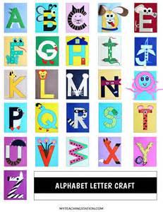 Alphabet Letter Crafts Preschool