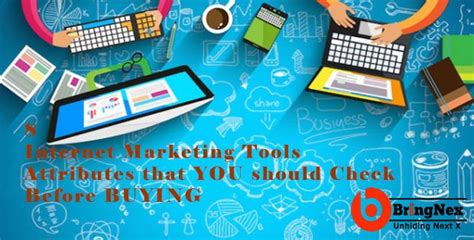 Seo Marketing Tools by 8 Marketing Tools Attributes You Should Check