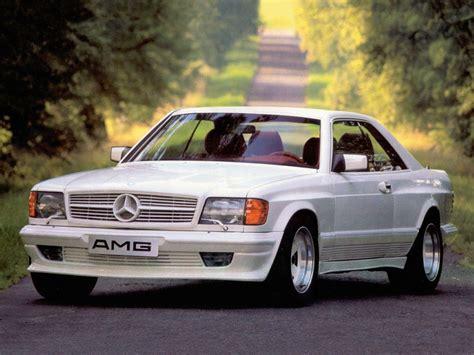 Amg Mercedes 500sec 5.0 C126 1984-1985 Amg Mercedes 500sec