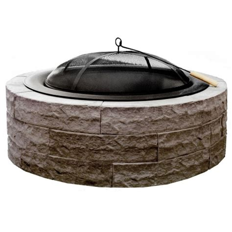 pit replacement bowl wonderful series 100 42 in lightweight concrete pit