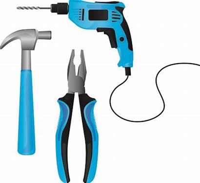 Tools Clipart Building Vector Elements Various Tool