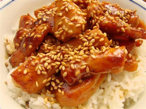 cuisiner des escalopes de veau poulet caramélisé au melfor et graines de sésame ourserie