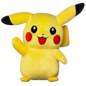 pokemon 8 plush pikachu