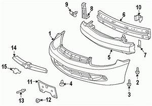 2000 Chevy Cavalier Parts Diagram