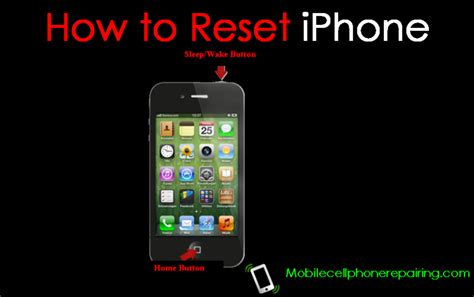 iphone 4 reset how to reset iphone soft reset and reset
