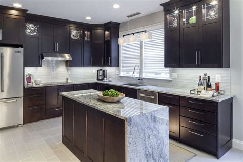 dark kitchen cabinets owings brothers contracting