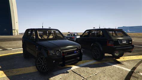 Gta 5 Car Modification Unlock by Range Rover Sport Fbi Unmarked Template Unlocked