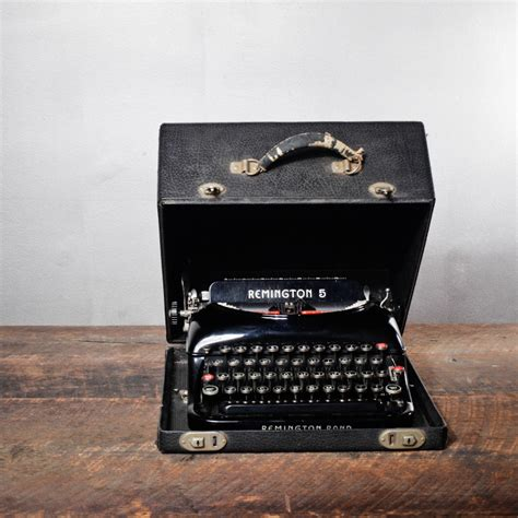 remington  streamline typewriter aesthetic correlation