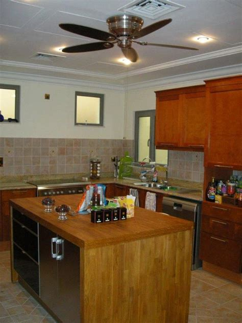 get illumination for your kitchen with ceiling fans 4 decor ideas