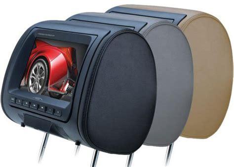 Car Video Headrest Dvd & Overhead Flip-down